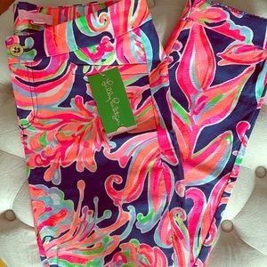 BNWT Lilly Pulitzer Kelly Skinny Ankle Pant